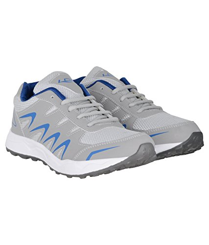 Lancer Men's Lightgrey-RoyalBlue Shoes-6 UK (INDUS-26)