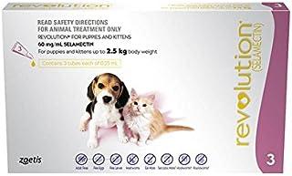 Revolution Flea Treatment Drop for Puppy/Kitten, 3 Count, Pink