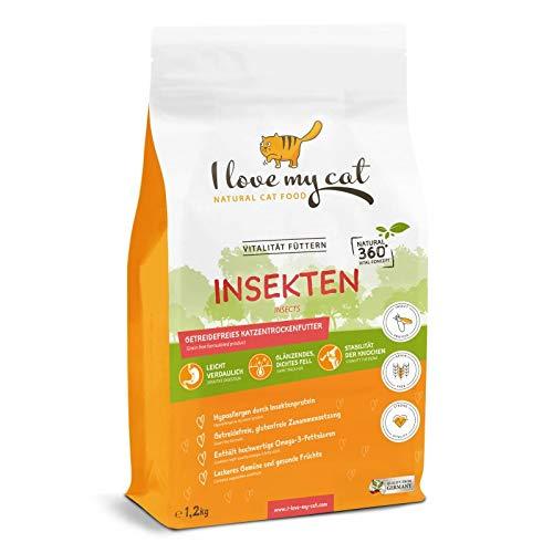 I love my cat - Trockenfutter - Insekten - 1,2kg