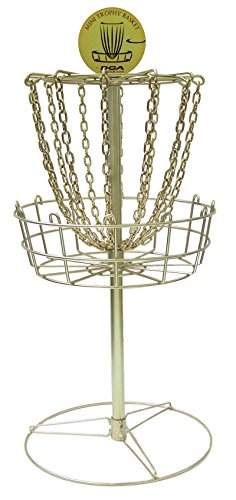 laserlinks Unisex dph-mn Mini Trophy Disc Golf Korb, Gold, Größe 28