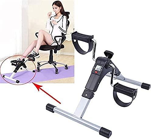 SAFGH Ejercitador de Pedal portátil - Arm & Amp;Máquina vendedora de Ejercicios para piernas - Bicicleta de Escritorio de bajo Impacto - Equipo de Fitness para Personas Mayores y Ancianos - Bicic