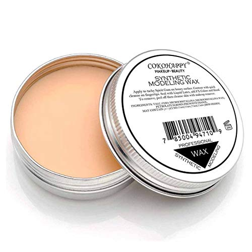 COKOHAPPY Halloween Party Stage Special Effects Wound Scar Nude Color Putty/Wax Fake Face Paint Fancy Cosplay Theatrical Makeup (1.41oz)