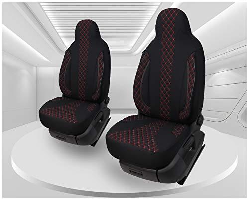 Maß Sitzbezüge kompatibel mit VW Golf Sportsvan Fahrer & Beifahrer ab 2014 - 2018 Farbnummer: PL402