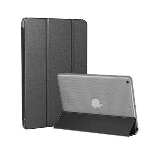SmartDevil Funda para iPad Air 1 con Soporte Función y Auto Sueño/Estela, Antichoque Magnético Funda para iPad Air 1.ª Generación 2013, 9.7' Funda Inteligente para iPad Air A1474 A1475 A1476 Negro