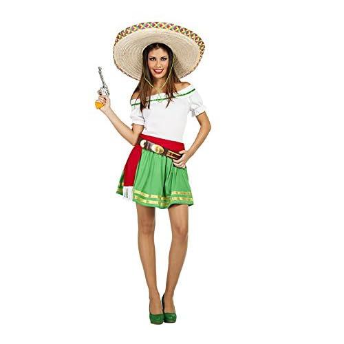 Car&Gus Disfraz de Mexicana Tequila para Mujer: Amazon.es ...