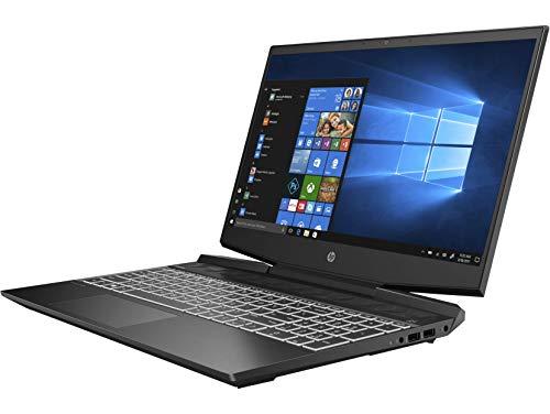 HP Pavilion Gaming 10th Gen Intel Core i5 Processor 15.6-inch FHD Gaming Laptop (16GB/512GB SSD + 32GB Intel Optane/144 Hz/Win10/NVIDIA GTX 1650 4GB/Shadow Black), 15-dk1146TX