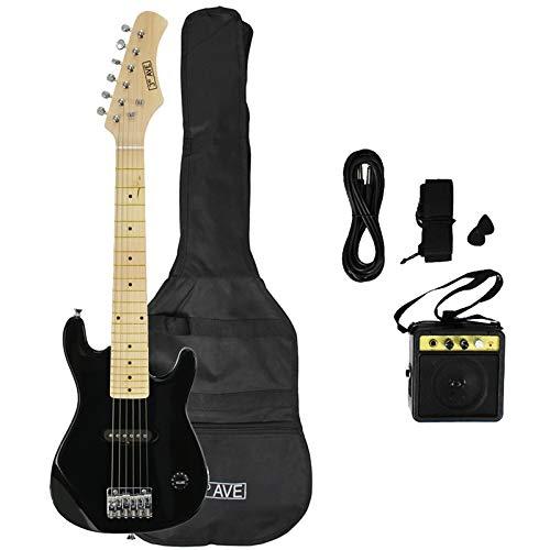 3rd Avenue STX30BKPK Junior E-Gitarren Pack - Schwarz