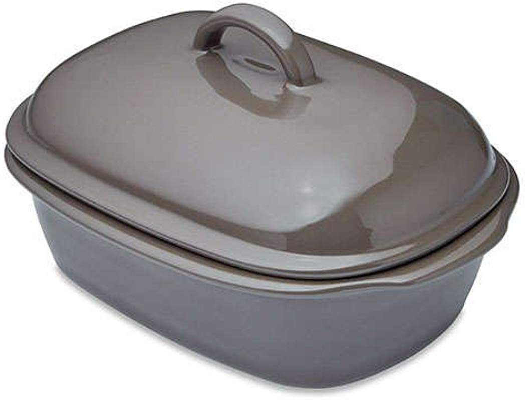 The Pampered Chef Deep Covered Baker For Oven And Or Microwave