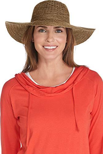 Coolibar Damen Sonnenhut UV-Schutz 50, Braun, Onesize