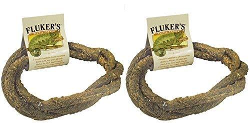 Fluker Labs SFK51019 Small Animal Bend-A-Branch Pet Habitat Decor, Medium (2 Pack)