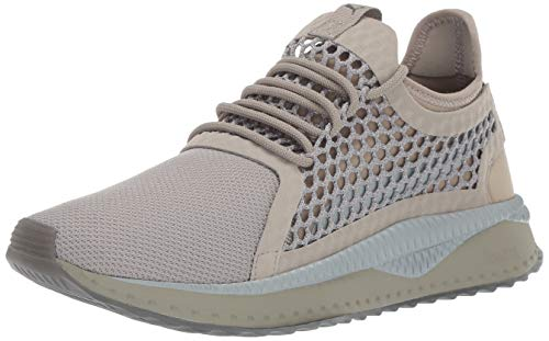 PUMA Men's Tsugi Netfit Sneaker, Elephant Skin-Quarry-Dark Shadow, 13 M US
