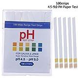 DINGZHHANGZH 100 Streifen Saliva Slaver for Urin Schwangerschaftstest Papier PH 4.5 9.0 Fügen Sie Packcing Box Early Detect (Color : A)