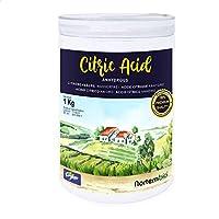 Zitronensäure (1 kg) - Wasserfreies Zitronensäure Pulver - 100% rein & umweltfreundlich - E-Book inklusive