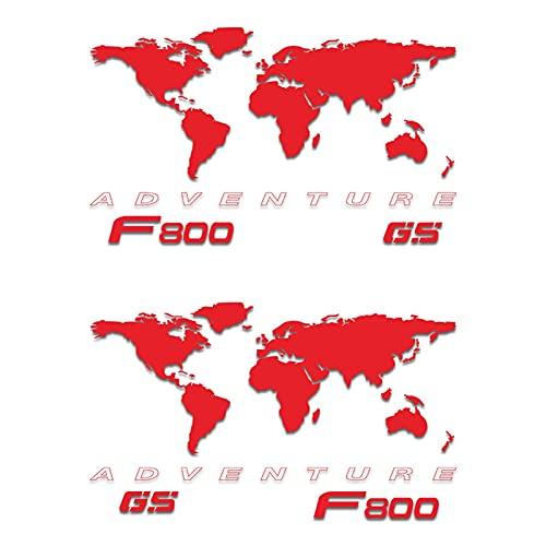 Etiqueta de la Caja de la Motocicleta Pegatina de Aluminio de la Motocicleta Caja de Aluminio de la Caja de la decoración Etiquetas calcomanías para F800GSA F 800GSA F800 GSA F 800 GSA (Color