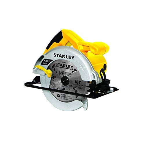 Stanley STSC1718-B2, Serra Circular 1.700W, Amarelo/Preto, 7-1/4'