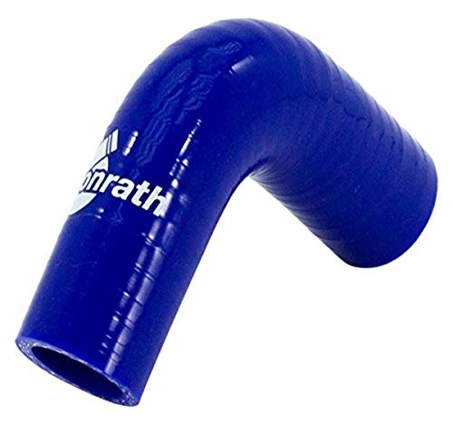 Bonrath Silikonschlauch 90 Grad Ecke - Länge:50mm - Ø25mm
