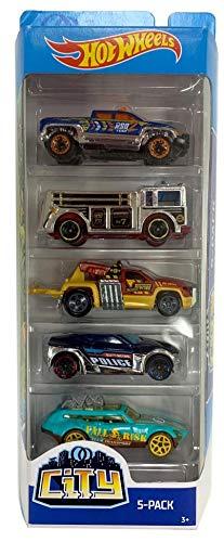 Hot Wheels City 5 Pack Cars (Hot Wheels Sets): Amazon.es: Juguetes y juegos