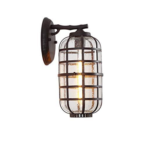 Wandlamp Retro industrie wind buitenlamp deur lantaarn buitenmuur lamp terras glas serre speciale lamp Lostgaming