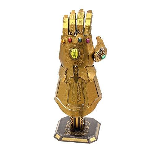 Fascinations Metal Earth Marvel Avengers Infinity Guantelete 3D Metal Model Kit