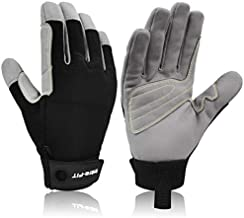 Intra-FIT Climbing Gloves, Lightweight,Breathable, Perfect for Rock,Tree,Wall,Mountain,Climbing
