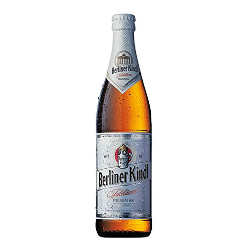 Berliner Kindl - Jubiläums Pilsener 5,1 % Vol. - 20 x 0,5 Liter Flaschen inkl. Pfand MEHRWEG