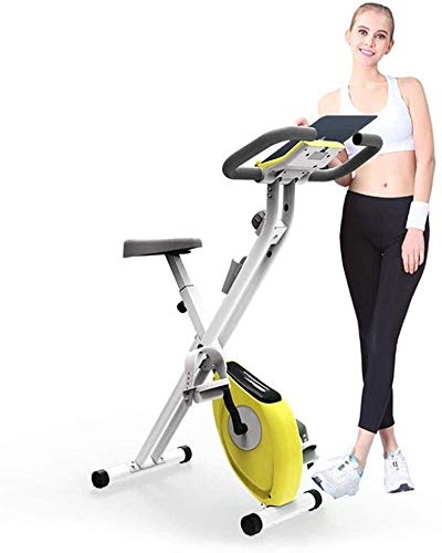 Great Price! MGIZLJJ Exercise Bikes Stationary Bike Indoor Spin Bike Indoor Cycling Bike with Tablet...