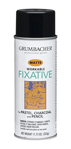 Grumbacher 546 11-3/4-Ounce Workable Fixative Spray