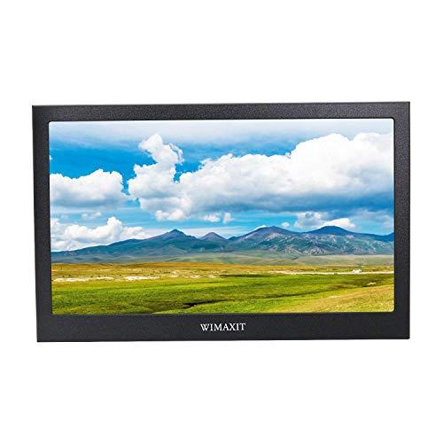 WIMAXIT 13.3 Zoll IPS 1920X1080 16: 9 Bildschirm Aluminium Gehäuse HDMI Monitor Display Spiel Monitor für PS3 / PS4 / X box / Raspberry PI