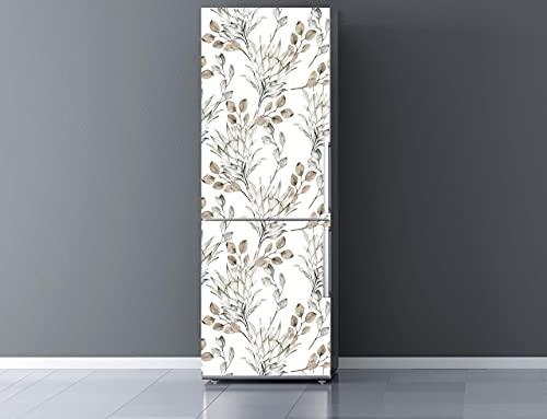 Oedim Vinilo para Frigorífico Ramas Secas 200x70cm | Adhesivo Resistente y Económico | Pegatina Adhesiva Decorativa de Diseño Elegante