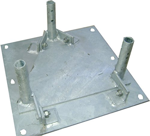 Rohn Products - BPH25G - 25G hinged base plate by IPC-STORE✅. Compare B00DPKWZFK related items.