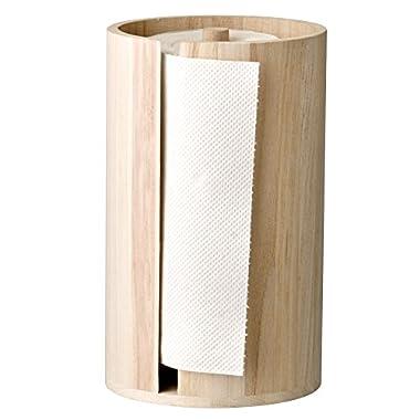 Bloomingville Wood Paper Towel Holder, Brown