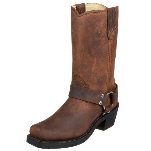 "Durango Women's RD594 10"" Crossroads Harness Boot,Brown,10 M US"