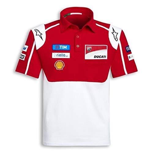 Ducati MotoGP 2017 Sponsor Poloshirt für Herren, Größe L