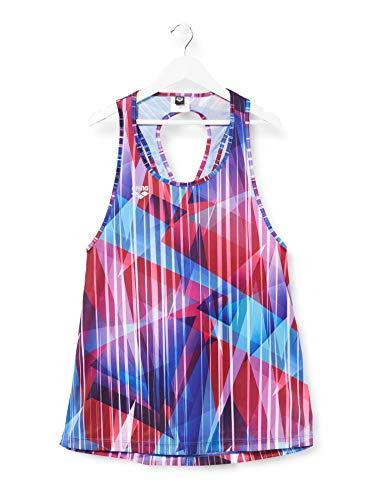 ARENA Débardeur pour Femmes Gym Cross Back Deporte, Camiseta y Mujer, Multicolor, XS