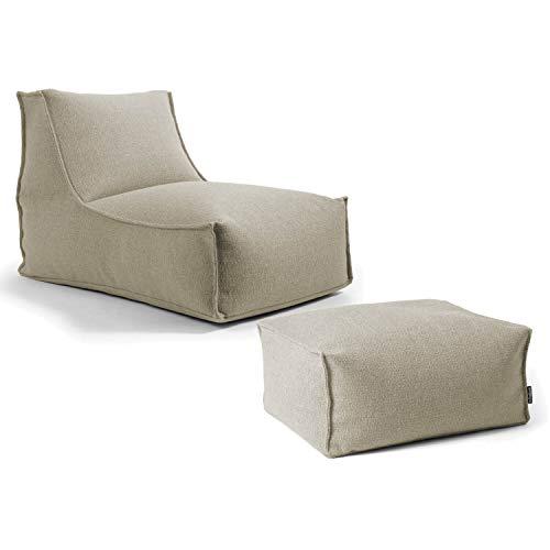 mokebo® Indoor Sitzsack 'Der Sundowner', Bean Bag, Liege & leichte Relaxliege, Made in Schwarzwald