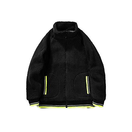 RYDRQF Casual sweatshirts voor heren mode sweatshirt oversize lange mouwen opstaande kraag full zip up effen jas herfst winter tas teddy fleece pullover outdoor muur trekking fj-553
