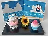 日本 飾ろう 日本の行事12ヶ月シリーズ 7月 招き猫の夏休み PS