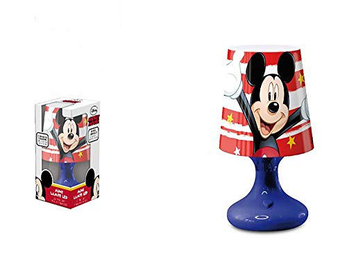 Lampe de chevet Mickey 18 cm