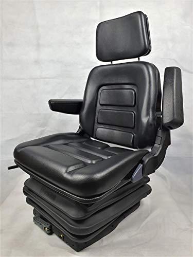 Gorilla - Asiento para tractor, asiento para excavadora, asiento de conductor, de PVC ecológico