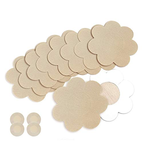 20 Pairs Nipple Breast Covers, Sexy Breast Pasties Adhesive Bra Disposable