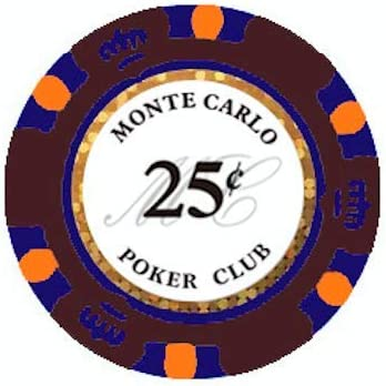 Monte Carlo Lower Denominations Cents New products, world's highest quality popular! 100 Poker Today's only - Chips