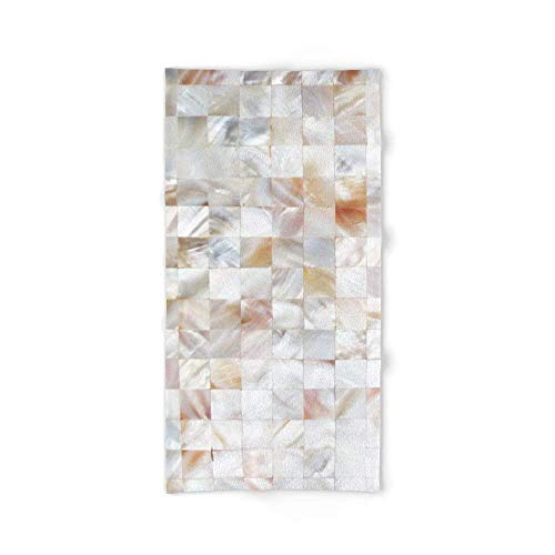 xcvgcxcvasda Mother of Pearl # # Decor # buyart Bath Towel 31.5 x 51.2 for Beach Home SPA Pool Gym Travel Unique Pattern Design