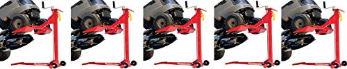 MoJack EZ Max - Residential Riding Lawn Mower Lift, 450lb Lifting Capacity, Fits Most Residential & Ztr Mowers, Folds Flat For Easy Storage, Use for Mower Maintenance Or Repair (5)