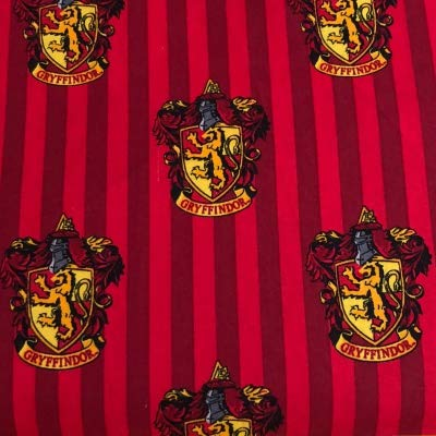 Harry Potter Tissu–par 0.5metre multiples–100% coton VISF58 HARRY POTTER - Gryffindor Red