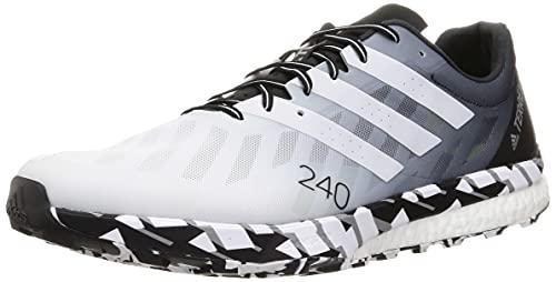 adidas Terrex Speed Ultra, Zapatillas de Trail Running Hombre, FTWBLA/Balcri/NEGBÁS, 44 2/3 EU