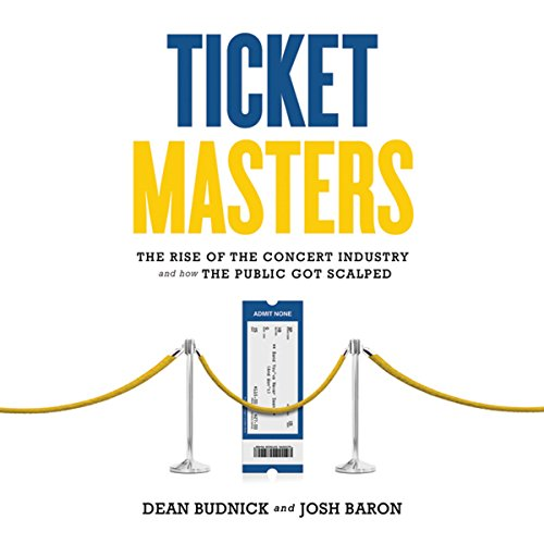 Ticket Masters audiobook cover art