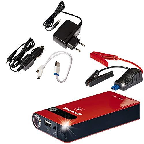 Einhell Auto-Starthilfe CC-JS 8 (3 x 2500 mAh, Starthilfe & Energiestation, mobile Stromversorgung, LiPo-Akku, Ladezustandsanzeige, Starthilfeeinrichtung)