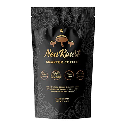 NeuRoast Classic Roast Mushroom Coffee - Ground Coffee