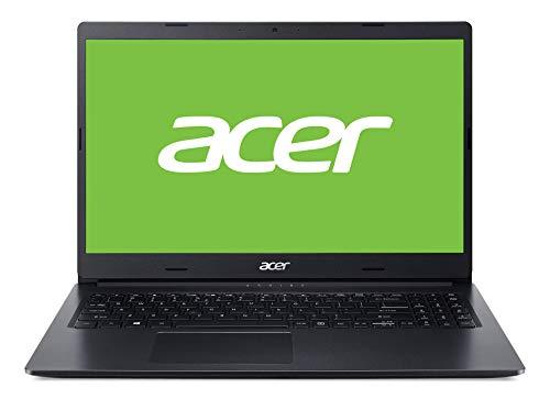 Acer Aspire 3 (A315-55G-595H) 15,6 Zoll Full-HD matt), Intel Core i5-10210U, 8 GB RAM, 256 GB PCIe SSD, NVIDIA GeForce MX230, Win 10 Home) schwarz