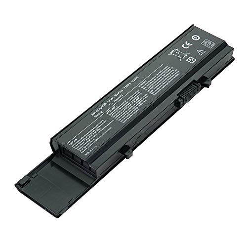 BattPit Laptop Battery for Dell 7FJ92 Vostro 3400 3500 3700 04D3C 04GN0G 0TXWRR 0TY3P4 312-0997 312-0998 4JK6R CYDWV Y5XF9 - High Performance [6-Cell/4400mAh/49Wh]